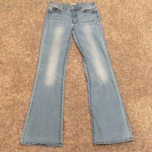 Banana Republic Wide Leg Light Blue Jeans Sz 27/4